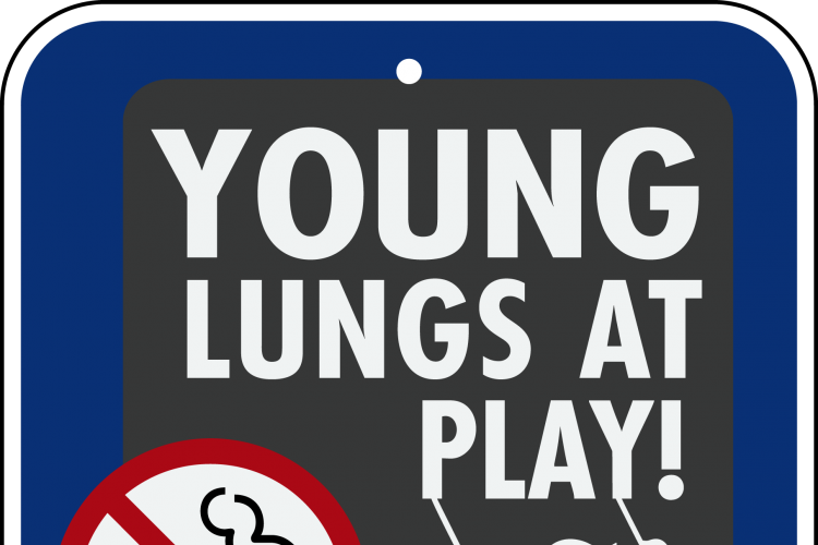 Young Lungs at Play - free signs for sites with tobacco-free policies!